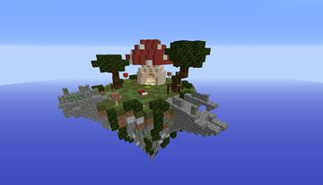 Mushroom 4x4 or 4x3 Bedwars map (Hypixel layout) Minecraft Map & Project