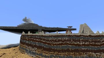 Imperial Jedha (Star Wars planet) Minecraft Map & Project