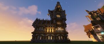 Clock tower rebuild Minecraft Map & Project