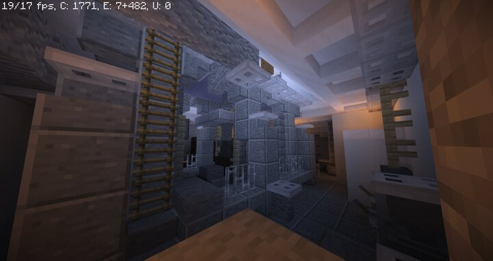 The Engine room and my fps