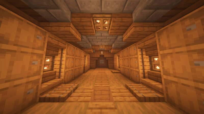 The front room of the Vault contains barrels for storage and a 3x3 door to get into the main area.