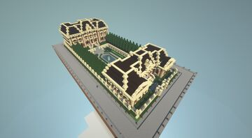 [Small Palace/Chateau] [Under construction] Minecraft Map & Project