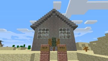 Church Build Minecraft Map & Project