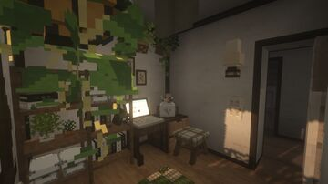 morning apartment interior 2.0 Minecraft Map & Project