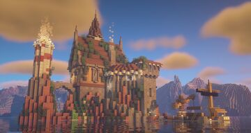 Small Island Castle Minecraft Map & Project