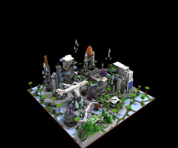 🚀FUTURE LOBBY🚀 Minecraft Map & Project