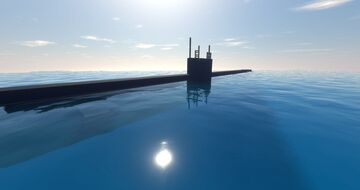 nuclear submarine Minecraft Map & Project