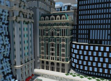 Jade Palace Building   Capitol Minecraft Map & Project