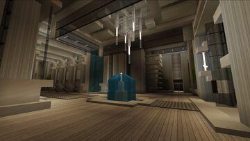 402 Length Mega Yacht - Rhenium Minecraft Map & Project