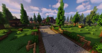 New Player Barn Minecraft Map & Project