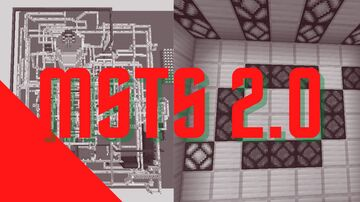 MSTS 2.0 Minecraft Map & Project