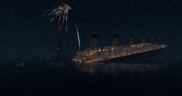 RMS Titanic Sinking | Full interior (Download) Minecraft Map & Project