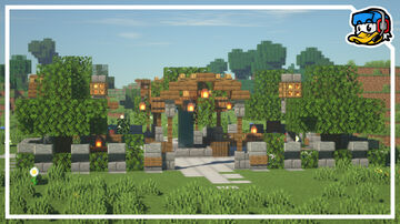 Small Park (Timelapse) | + Download | 🦆 LiamxF Minecraft Map & Project