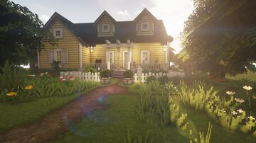 Yellow Cottage - Cocricot Minecraft Map & Project