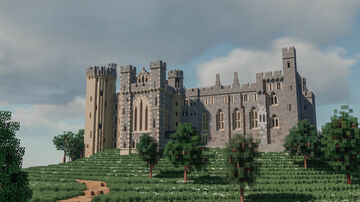 Arundel Castle, West Sussex Minecraft Map & Project