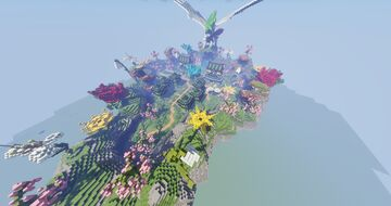 Oasis Pixelmon Spawn Spring- Gym - City - Town ( Completed Commission by Magma ) Minecraft Map & Project