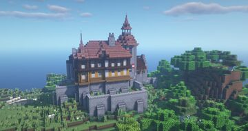 Castle Taukeloo Minecraft Map & Project