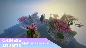 Chinese / Atlantis PvP map | Easy to use! [ Free Download ] Minecraft Map & Project