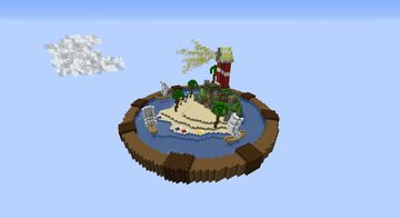 NORMAL | Beach Theme | Very Small Hub Minecraft Map & Project