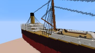 RMS Oceanic 1899 By Yutie Minecraft Map & Project