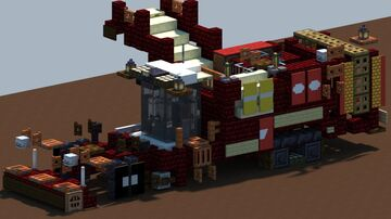 Grimme Varitron 470 Platinum Terra Trac, Potato harvester [With Download] Minecraft Map & Project
