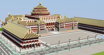 Palace of the Republic   New Kaitac Minecraft Map & Project