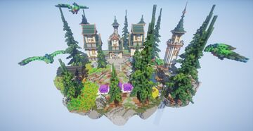 Fantasy Skyblock FREE ► Moddragon Minecraft Map & Project