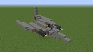 Plane / Jet thing Minecraft Map & Project