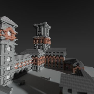 Hall of Heroes, Haven Style City by QbaQ, HoMM V inspiration Minecraft Map & Project