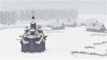 Old Russian Village - near Saint Petersburg, 1893 Minecraft Map & Project