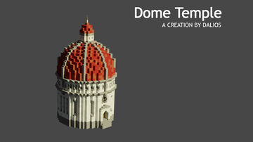 Temple of light   Dome Temple Minecraft Map & Project