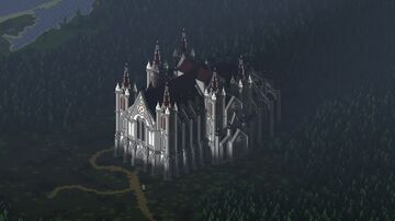 Abandoned Cathedral (JAVA 1.16.5+) Minecraft Map & Project