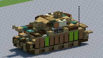 Panzer IV Ausf H, Tank [With Download] Minecraft Map & Project