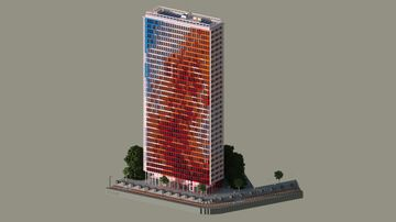 Modern Skyscraper 3 Minecraft Map & Project