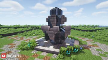 Simple Fountain Design Minecraft Map & Project