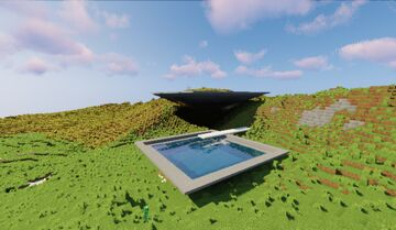 Pyramid Solo House Minecraft Map & Project