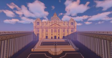 St. Peter's Block-silica Minecraft Map & Project