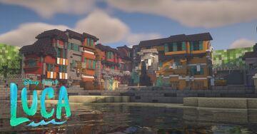 Luca Disney - Minecraft Map (PORTOROSSO) Minecraft Map & Project