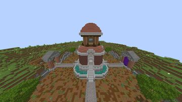 MiniHub Medieval Minecraft Map & Project