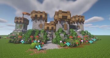 ArtistW03's Small Castle One [Schematic] Minecraft Map & Project