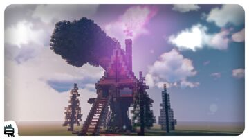 The Witch's Hut Minecraft Map & Project