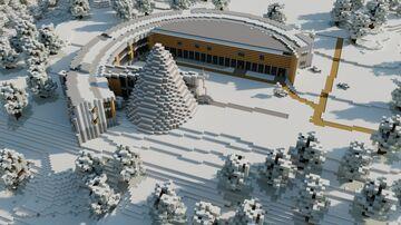 The Sami Parliament, Karasjok/Norway Minecraft Map & Project