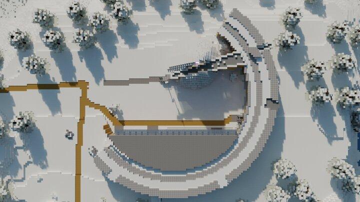 The Sami Parliament Aerial view