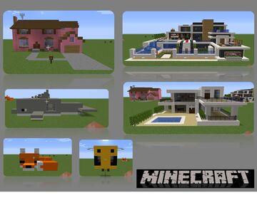 Coleccion de Casas 2 (Houses Collection 2) by AdrielVR Minecraft Map & Project