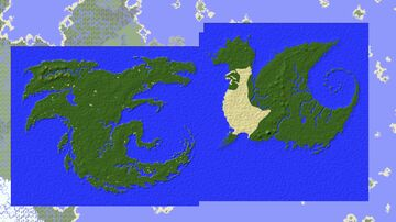 Pyrrhia + Pantala (Wings of Fire) Minecraft Map & Project