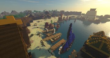 Seedy Merchants Pier | The 4Nations Project Minecraft Map & Project
