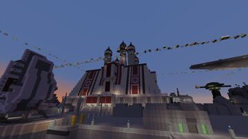 Imperial Coruscant (Star Wars planet) Minecraft Map & Project