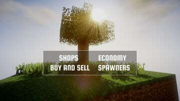 Ultimate Skyblock [Economy, Shops, Buy and Sell, Spawners, etc.] Minecraft Map & Project
