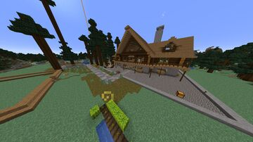 Towns & Villages of the SMP Minecraft Map & Project