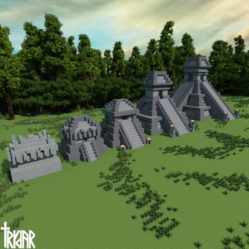 Jungle Temple Upgrade +tutorial Minecraft Map & Project